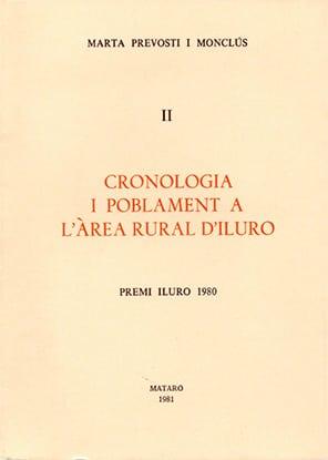 33 I 34. Cronologia I Poblament A L'àrea Rural D'Iluro (II) (Premi Iluro 1980)