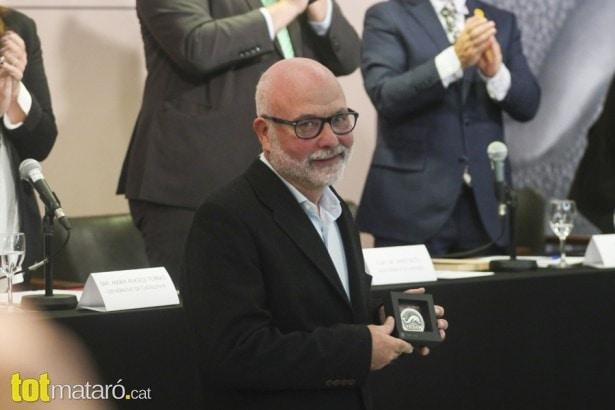Joan Giménez fa el 'hat-trick' de Premis Iluro | El Tot Mataró