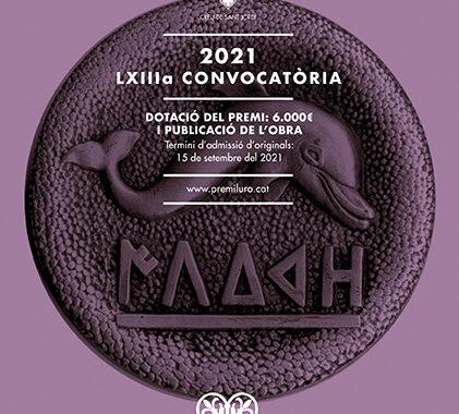 CONVOCATORIA PREMI ILURO 2021